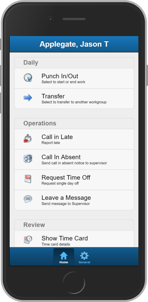 Mobile ESS for iPhone and android