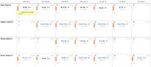 Roster Scheduler